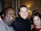 Jeremy Kaplan, Dan Evans from PC Magazine and Jennifer DeFeo