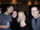 John Chow, Techzone, Karen Thomas, Dan Carr, Apple, at Techzone Party at the Venetian