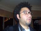 Brian Bennett, Computer Shopper at TechZone Party