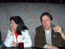 Sally Grotta, PC Magazine and Dan Havlik, PTN