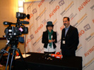 Dan Cassinelli, PPC Interview with Jini Shim, Aving.net TV at the Renaissance