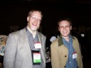 David English, AV Video & Sascha Segan, PC Magazine at Official CTIA Press Event