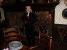 """Karen Thomas at Aunt Pitty Pat's, the """"Gone with the Wind""""-themed restaurant"""