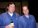 David Higham and John Millner at nVidia Party at the Omni
