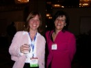 Sue Marek, Wireless Week with Tracy Ford, RCR Wireless News at CTIA Press Event at the Atlanta Hilton