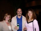 Cindy Plough, Karen Brown and Kevin Campbell of Wireless Week