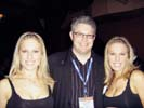 Brian Costello, Metropolitan Mystics with Coors Light Twins at iHollywood Party