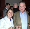 Andy & Linda Seybold at Verizon Party at the V Bar