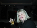 """Diana Forbes, """"Gadget Girl"""" at Microsoft Party"""