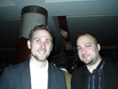 Kyle Monson and Dan Costa, PC Magazine at Microsoft Party