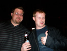 Ernie Hawkinson & Eric Belisle, Gogotron Empire at VGChartz Party