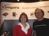 Gerdi Vogels & Albert Zeeman, Vogel's at Macworld Booth