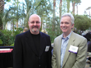 Nick Dager, Digital Cinema Report and Ken McGorry, Post at the Avid Party at the Hard Rock