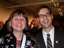 Jill Waterman and Daryl Lang, PDN at Sony Party