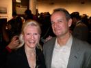 Karen Thomas, Thomas PR and Jeff Frazine, PMA at American Photo Party