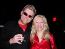 Brendan Cavanaugh, Thephotostation.net & Karen Thomas, Thomas PR at the HP Party, LAX Club at the Luxor