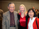 James Chung, IPC, Karen Thomas, Thomas PR & Machiko Ouchi, JPEAI at the JPEAI Party at the LVCC