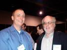 Thomas PR Client Rusty Redecker from Unibind Demos New Green PhotoBooks to John Rettie, Rangefinder at Sneak Peek