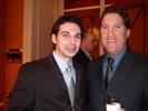 Brandan Remler & Ron Gazzola, Fuji at PMDA Dinner.