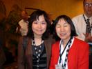 Chelsea Miso Kim, Aving TV and Machiko Ouchia, JPEAI at I3A Party at LV Hilton.