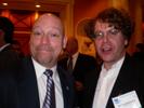 Gary Pageau, PMA & Bill Kouwenhoven, Thomas PR at PMDA Dinner.