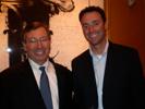 John Owens, Popular Photography & Imaging & Steve Sommers, Sony at PMA Dinner at Caesar's.