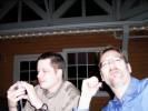 Dave Kamanski, A-digital-eye/Mike Tomkins Having Cocktails