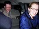 Aimee Baldridge, CNET & Mike Tomkins, Imaging Resource Driving Back in Crowded Car from Bahama Breeze