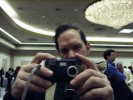 Don Sutherland Tries Out New Concord Camera 5 Megapixel at Sneak Peek