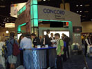 Concord Camera Booth - Concord Introduced the New EasyShot Line of Digital Cameras and Won the PMA DIMA Award.
