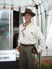John as Indiana Jones