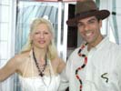 Madonna and Indiana Jones