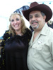 Michelle Miller, SCWEBC and Jerry Giustra as Dolly Parton and Burt Reynolds