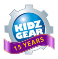 Kidz Gear. Kidz Gear is the Grown-up Performance, Built For Kids! Brand www.gearforkidz.com.