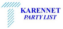 KARENNET PARTY LIST