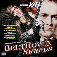 "THE GREAT KAT -- WORLD'S FASTEST GUITARIST -- NEW ""BEETHOVEN SHREDS"" CD OUT NOW!"