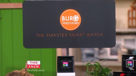 CBS-TV The Talk Features BURG 16A Smartwatch with Dr. Gadget on Spring Gadgets!