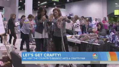 NBC-TV Today Show Features the CHA 2014 Show – Craft & Hobby Show!