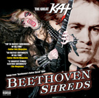 THE GREAT KAT UNLEASHES THE WORLD�S FASTEST SHRED GUITAR CD � �BEETHOVEN SHREDS�