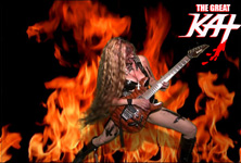 The Great Kat - World's Fastest Female Guitarist with Over 1 Million YouTube Views of Shred/Classical Music!