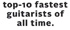 """GUITAR WORLD MAGAZINE'S READERS' POLL NAMES THE GREAT KAT """"TOP-10 FASTEST GUITARISTS OF ALL TIME""""!"""