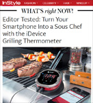 InStyle Magazine on iGrill2: Turn Your Smartphone into a Sous Chef by Katie Donbavand