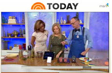 NBC-TV Today Show with Kathie Lee and Hoda on iGrill Bluetooth Meat Thermometer - 7 Gadgets for Faster, Easier Holiday Cooking