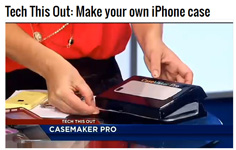 NBC-TV on CaseMaker Pro by Molly O�Brien