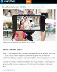 "USA Today on iStabilizer: ""Face it: Those selfies you and your friends take are starting to get repetitive. You know � faces pressed close to the phone, usually with big grins. Well, a 'monopod' attachment will let you snap those selfies from a bit of a distance, giving a more varied and less constrained look to your shots,"" by Deborah Porterfield"