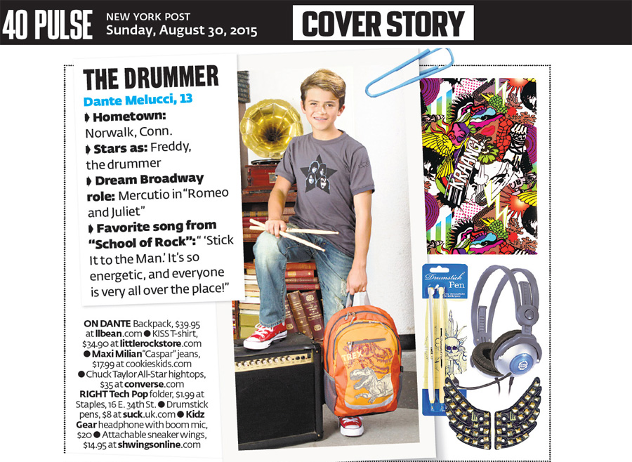 NY Post on Kidz Gear Headphones for Kids with Boom Mic!
