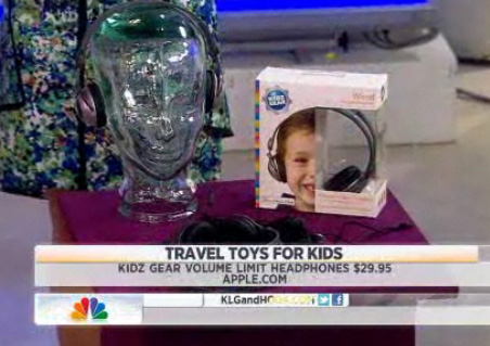 "NBC Today Show on Kidz Gear ""How to Keep Your Kids Busy While Traveling"" with Sarah Spagnolo!"