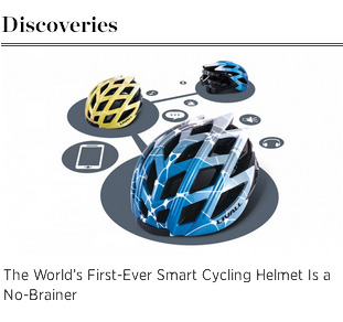 "The Robb Report on LIVALL ""The World's First-Ever Smart Cycling Helmet is a No-Brainer"" by Viju Mathew, The Robb Report"