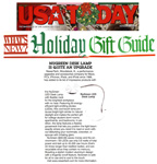 "USA Today on NewerTech LED Lamp � Holiday Gift Guide 2014! ""Makes the perfect gift for college student dorm rooms, apartments, and bedrooms."" - USA Today"