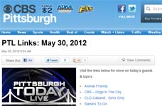 "Thomas PR Clients: iGrill and iBike in ""DR. FRANK SHOWS COOL GIFTS for DAD'S & GRAD'S ON CBS-TV (PITTSBURGH TODAY LIVE) MAY 30, 2012"""